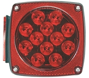 Square LED Stop/Turn Light