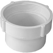 """3"""" PVC S&D Fitting Cleanout Body (SpxFIP)"""