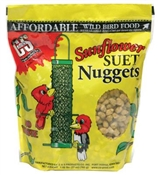 27OZ Sunflower Suet Nuggets