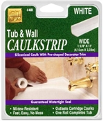 "TUB/WALL CAULKSTRIP 1 5/8""X11'"