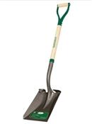 """30"""" Square Point Shovel Wood Handle D Handle"""