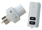 Dusk to Dawn Programmable Outdoor Light Control Socket