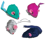 Plush Mice Cat Toy, 12 Pack