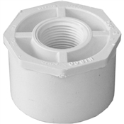"2""x3/4"" Slip X Thread Bushing Schedule 40 PVC"