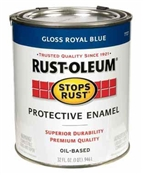 Stops Rust Protective Enamel Royal Blue