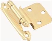 Amerock BP34283/BPR34283 Cabinet Hinge, Steel, Polished Brass