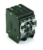 (2) 2-Pole 20 Amp Type BQ Quad Circuit Breaker BQ220220