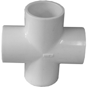 "1-1/4"" Cross Schedule 40 PVC"