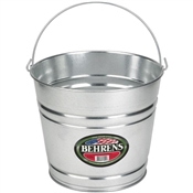 Pail  Heavy Duty Galvanized 8 Quart
