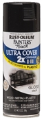 2X Painter's Touch Spray Paint Gloss Black