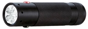 LED Tactical Dual Color Flashlight, 109 Lumens