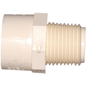 "3/4"" x 1/2"" CPVC Reducing Male Adapter"
