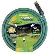 "75' 3/4"" NeverKink Self-Straightening Garden Hose"