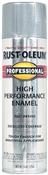 RUST-OLEUM 7515838 Professional High Performance Enamel Spray Paint, Gloss, Aluminum, 14 oz Aerosol Can