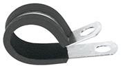 "1/4"" Rubber Lined Clamp, 5 Pack"