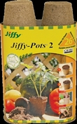 Jiffy JP226 Peat Pot, Peat Moss