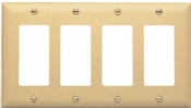 Ivory Nylon 4 Gang Decorator Plate