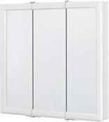 """30"""" Tri-View Medicine Cabinet in White Finish"""
