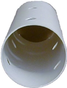 """4"""" x 10' SDR-35 Perforated Bell End Sewer Pipe"""