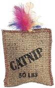 Catnip Jute & Feather Cat Toy