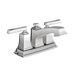 Boardwalk  2 Handle Bathroom Faucet, Chrome