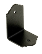 "2"" x 1-1/2"" Black/ZMAX Ornamental Angle"