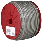"3/32""-3/16"" Coated Galvanized Cable 250' Roll"