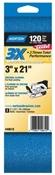 "3"" x 21"" 120 Grit Zirconia Alumina Abrasive Sanding Belts"