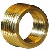 """1/2"""" Male x 3/8 Female Brass Pipe Thread"""