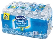 Nestle Pure Life Bottled Drinking Water, 16.9 Oz, 24 Pack