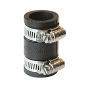 """Rubber Pipe Coupling, 3/4"""""""