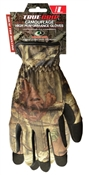 True Grip, Large, Mens, Mossy Oak Camo, Utility Glove