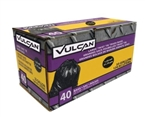 Vulcan Trash Bag, 33 Gallon, Capacity Black