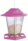 "Audubon, 8"" Multi-colored Plastic Lantern Bird Feeder"