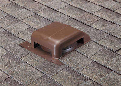 Shop Slant Back Galvanized Roof Vent Black At Mccoy S