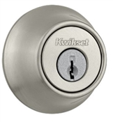 Double Cylinder Deadbolt, Satin Nickel