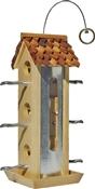 Tin Jay Twig Style Perch Bird Feeder