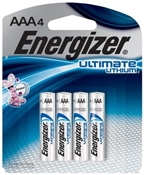 AAA Lithium Batteries, 4 Pack