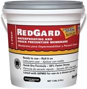 RedGard Waterproofing Crack Preventing Membrane - 1 Gallon