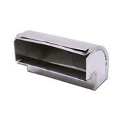 "3-1/4""x10 Aluminum Duct Elbow"