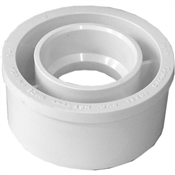 "3""x1-1/2"" PVC-DWV Reducing Bushing (SpxHub)"