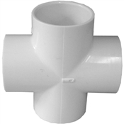 "2"" Cross Schedule 40 PVC"