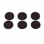 Prosource FE-50712-PS Furniture Gripper Pad, PVC, Black