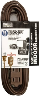 16/2 Extension Cord Brown 15'