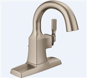 Sawyer Single Handle Bathroom Faucet, Brushed Nickel