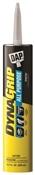 Dap 27501 All Purpose Acrylic Latex Construction Adhesive, 10.3 Oz, Tube, 20 Min Drying, Paste, Tan, 7 - 12 Ph