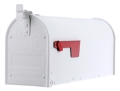 White Post Mount Rural Mailbox