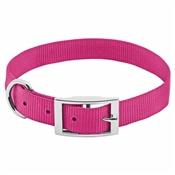 """Pet Expert Dog Collar, Pink, 1"""" x 18-22"""""""