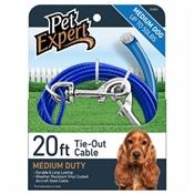 Pet Expert Lightweight Dog Tie Out, 20'