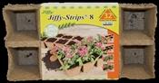 Jiffy JS32 Peat Pot Strip, Peat Moss